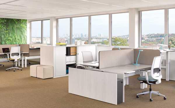 Arbeitsplätze im Großraumbüro - Steelcase