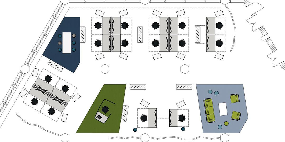 Büroplanung München Bayern Wipper Bürodesign